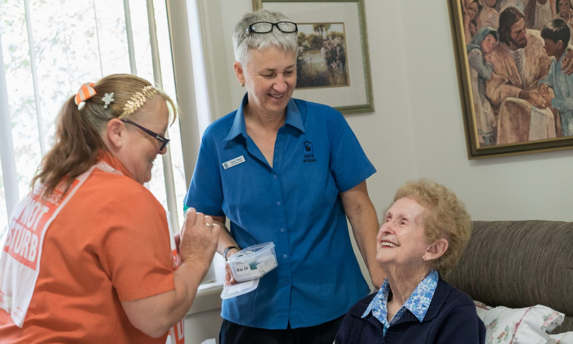 Assisted care includes medical checkups - Myoora Homestead - Henty-00201