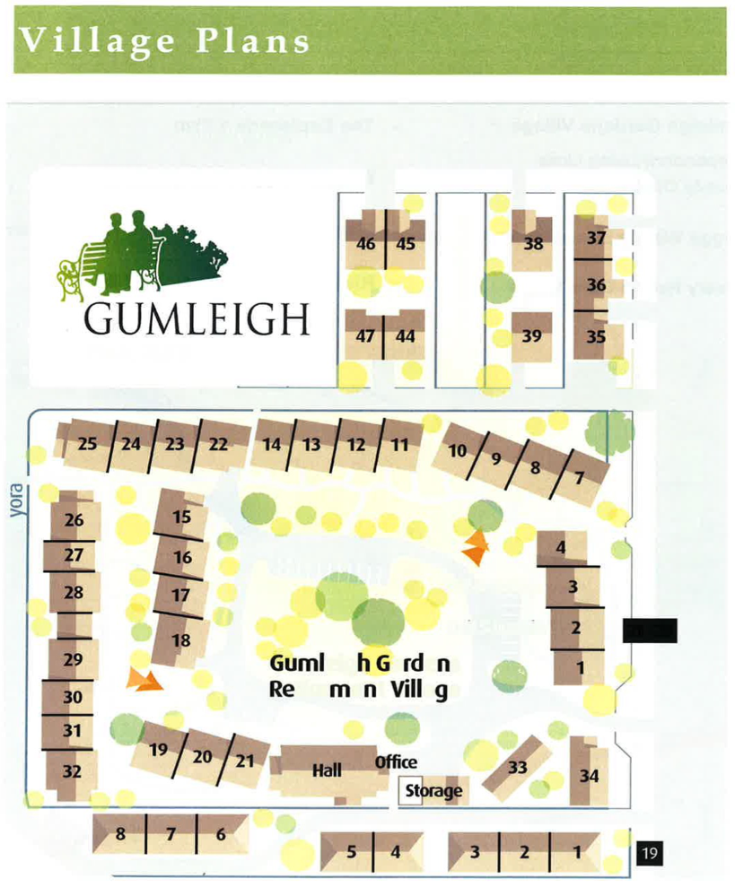 Lot map - Wagga Wagga - Gumleigh Gardens