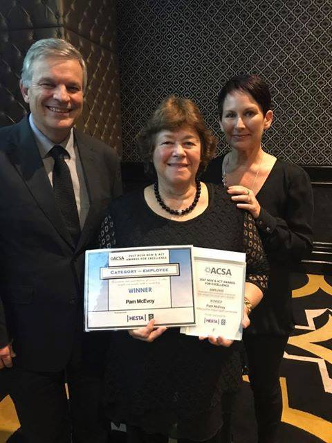 Pam McEvoy NSW Employee of the Year 2017
