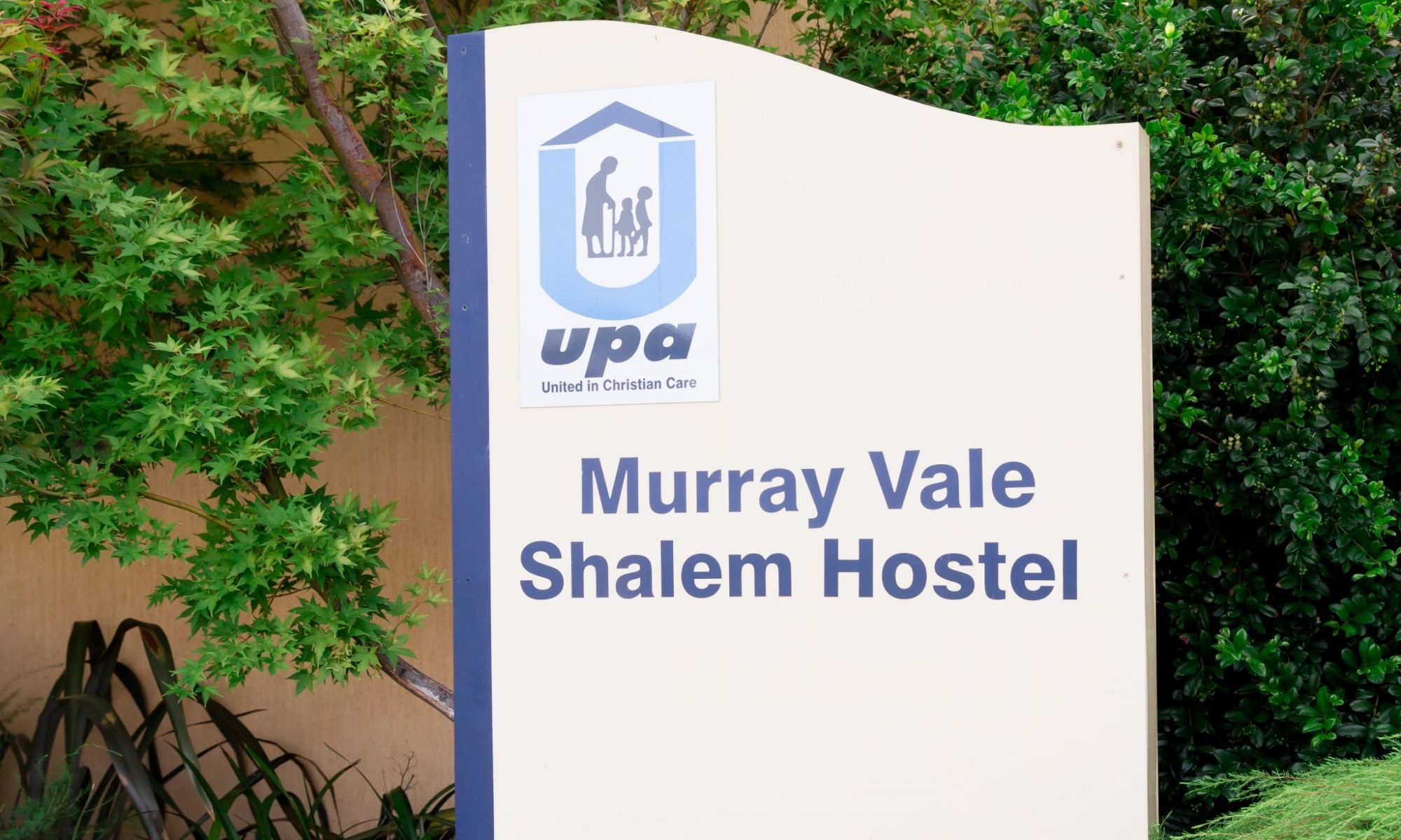 Murray Vale Shalem Hostel - Lavington - Entry sign 2