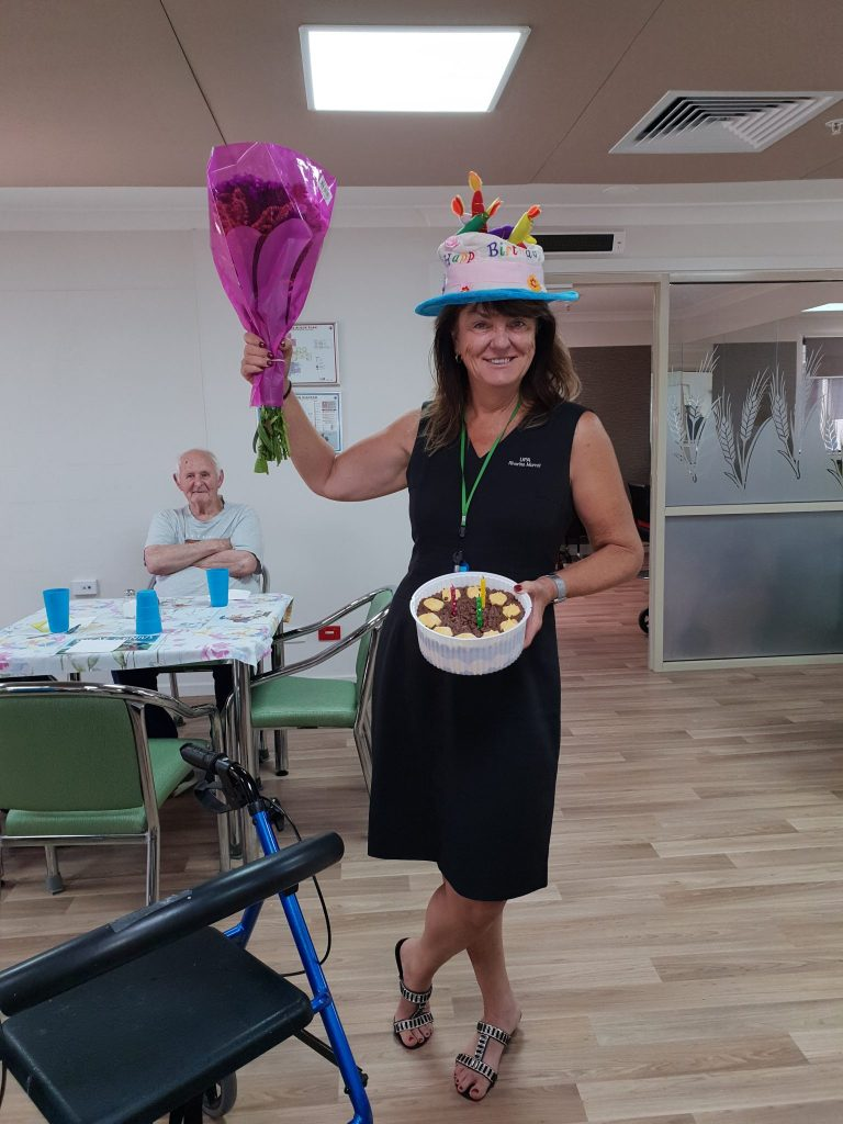 Holbrook Hostel Care Managers Birthday